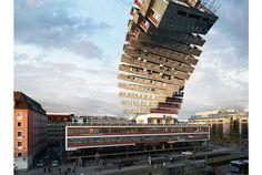 バビューン! とね。現実には絶対に有り得ない建物の写真を作る、建築写真家のヴィクター・エンリッチ(Victor Enrich)さ...