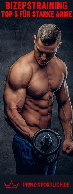 Dünne Arme... Ihr kennt das Problem?! Massive Arme sind eines DER Fitness-Must-Haves. Ihr wollt auch endlich starke Arme? Dann schaut euch meine Top 5 Bizepstraining auf meinem Blog an.