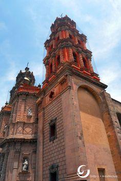 Catedral San Luis Potosí, México.