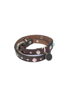 Odd Molly Armbånd 717M-994 Tombstone Bracelet - dark brown