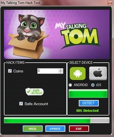 My talking Tom Hack Tool Free Download No Survey Updated