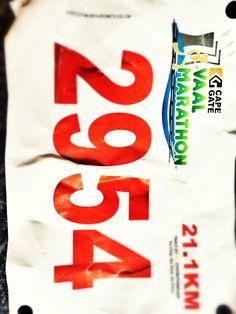 #Vaal half marathon