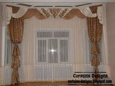 this is one of contemporary curtains with american design ideas for bedroom's windows, contemporary bedroom sheer curtain design with 3 colors, beige, brown and white Curtain Designs For Bedroom, Window Curtain Designs, Curtain Styles, Curtain Ideas, Design Bedroom, Brown Curtains, Sheer Curtains, Valance Curtains, Valances