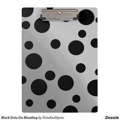 Black Dots On Blending Clipboard