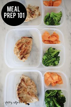 Clean Meal Prep is key for staying on track with the 24 day challenge or any clean eating program.  Sharing 3 favorite meal prep recipes.