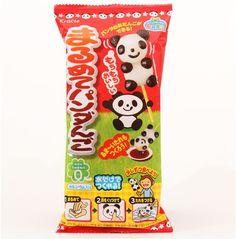 DIY Popin' Cookin' panda dango dumpling candy set 1