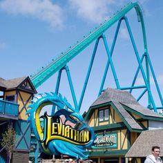 12 alternativas de parques de diversão além da Disney World - Canada's Wonderland, em Vaughan, Ontário, no Canadá