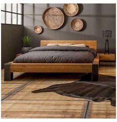 Best Bedroom Bed Design Wooden Ideas #bed #design #wooden #back #beddesignwoodenback Best Bedroom Bed Design Wooden Ideas #bedroom Rustic Bedroom Design, Bedroom Bed Design, Bedroom Decor, Rustic Industrial Bedroom, Industrial Bed Frame, Bedroom Designs, Bedroom Ideas, Rustic Furniture, Furniture Design