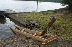 Boat Roller Ramps | Boat Ramp | Pinterest | Boats, Wooden boats and Building