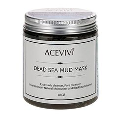 ACEVIVI Dead Sea Minerals Mud Mask100 Natural Facial Care and Treatments for Acne Oily Skin  Blackheads  10 OZ * Want to know more, click on the image.