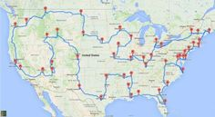 Life is a Speedway: The Fastest Way to Hit The Best Landmarks on a Road Trip
