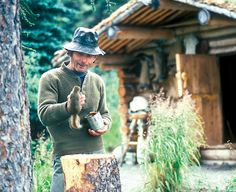 "After 30 years of living ""Alaska Wild"" in his hand-built cabin, his legend to thrive off the land lives on forever!"