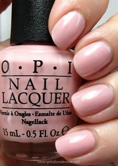 OPI ~ I Theodora is a ballerina pink crème.  My toes are crying out for this!!