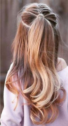 wedding hairstyles easy hairstyles hairstyles for school hairstyles diy hairstyles for round faces p Easy Little Girl Hairstyles, Girls School Hairstyles, Girl Haircuts, Trendy Hairstyles, Braided Hairstyles, Teenage Hairstyles, Party Hairstyles, Natural Hairstyles, Halloween Hairstyles