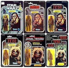 Chewbacca figure variants