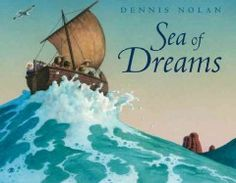A wordless picture book featuring a sandcastle that takes on a life of its own.
