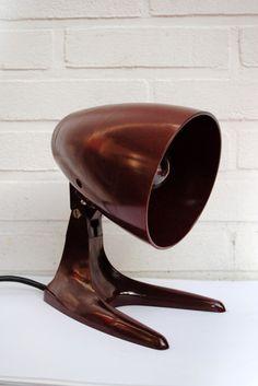 1930s Bakelite Table Desk Lamp Art Deco Bauhaus Streamline Modernist