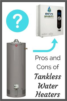Water heaters why you should consider going tankless for Pex pros and cons