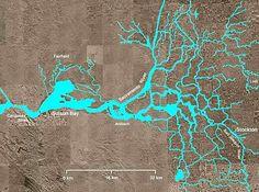 California delta waterways