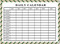 Free Editorial Calendar  Printable  Printables