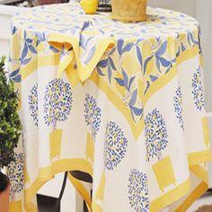Couleur Nature Lemon Tree Dining Linens Set | Wayfair