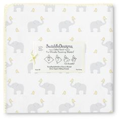 SwaddleDesigns Ultimate Receiving Blanket, Elephant & Chickies, Cheerful Yellow SwaddleDesigns http://www.amazon.com/dp/B00B07SMRA/ref=cm_sw_r_pi_dp_Kcuaub0DFWBJT $25