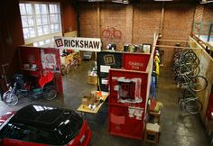 #coworking space with bikes parking