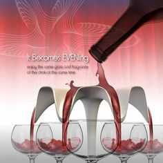Designer Bowls: Goblet by Chinese Sehyoung Koh 2008 patent 多功能分流器