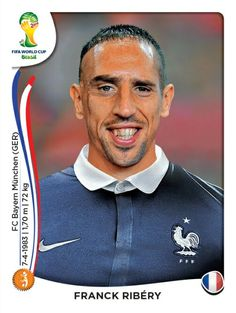 389 Franck Ribéry - Francia - MUNDIAL BRASIL 2014