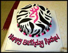 Browning zebra cake