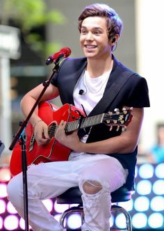 Austin Mahone on the Today's Show