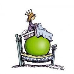 Princess and the Pea disorder - this is the first time I have heard it called that... but it is perfect!