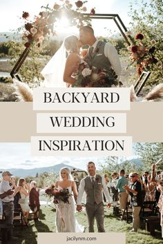 J + E did not let the pandemic crush their plans. They turned her parents picturesque backyard just outside Missoula, Montana into the a dreamiest wedding venue! The boho inspired altar was a stunning backdrop for the ceremony - deep red + gold hues everywhere mixing perfectly with the natural river + mountain landscape surrounding the property. Visit JacilynM.com to see more wedding inspiration from that day! #outdoorwedding #weddingphotographer #montana #weddinginspiration… Wedding Costs, Elope Wedding, Outdoor Wedding Inspiration, Wedding Ideas, Mountain Weddings, Montana Wedding, Wedding Honeymoons, Outdoor Wedding Venues, Diy Wedding Decorations