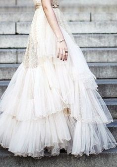 Ida Sjostedt polka dot couture wedding dress