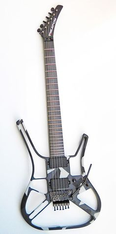 Aluminium and carbon fiber electric guitars, electric guitars made in italy :: Weapon Guitars