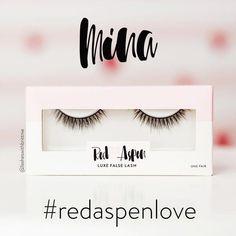 dc65afe5f43 Mina Lash - Red Aspen Silk & Faux Mink Falsies #falseeyelashes #makeuptips  #redheadmakeup