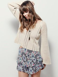 FP One Pepita Skort at Free People Clothing Boutique
