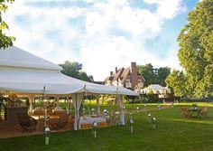 open spring wedding marquees