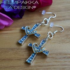 Helmipaikka Oy - Joka päivä on korupäivä - Helmipaikka. Crosses, Tea, Bracelets, Earrings, Jewelry, Ear Rings, Stud Earrings, Jewlery, Jewerly