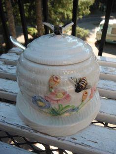 Antique Honey pot- also found in yellow