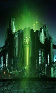 Destiny: Crotas End Hard Mode has already been beaten Destiny Bungie, Destiny Game, Destiny Backgrounds, Digital Revolution, Bioshock, Video Game Art, Light In The Dark, Science Fiction, Videogames