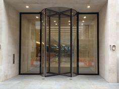 4.5 Meter Tall (Oversized) Revolving Doors Case Study: Revolving Doors for 10 New Burlington Street