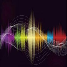 Wave Illustration, Radio Wave, Connect The Dots, Happy Vibes, Flow Arts, Sound Waves, Media Design, Occult, Magick