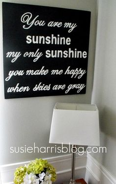 You are my sunshine 24 hand painted on birch. my-signs Sing To Me, Songs To Sing, Love Songs, Adairs Kids, Little Girl Names, You Make Me Happy, Lose My Mind, You Are My Sunshine, New Sign