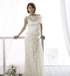 Louise  Nuit Blanche Paris - Robes de mariée sur mesure