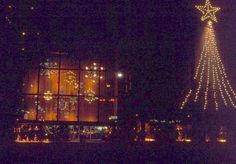 Herpolsheimer's window at Christmas (now the Police Station) - 1966