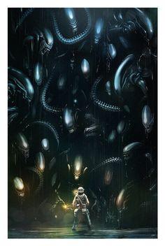Alien Mass by AndyFairhurst.deviantart.com on @DeviantArt