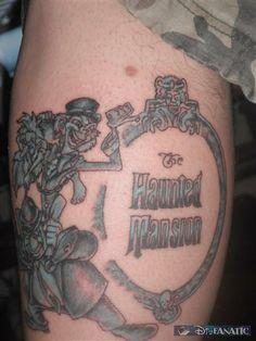 haunted mansion tattoo | Mickey Ink °o° - Disney and Pixar Icon Tattoos!