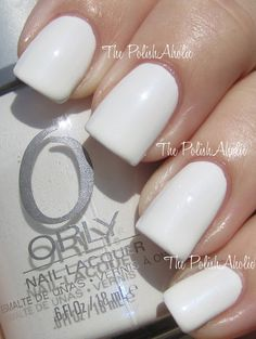 Orly Feel The Vibe - Dayglow  Not your average white!