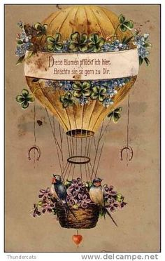 Ansichtskarten / hot air balloon - Delcampe.net